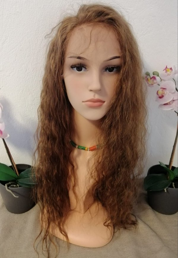 Echt Haar Alice Front Lace wig natural curl